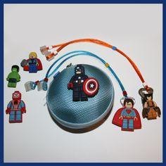 Superheroes personalised package