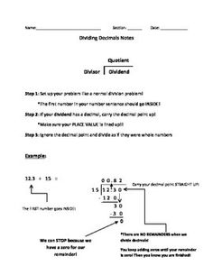 math worksheet : dividing decimals by whole numbers practice and word problems  : Dividing Whole Numbers By Decimals Worksheet
