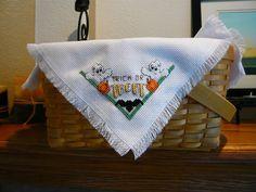 Trick or Treat Halloween Cross Stitched by TheGardenStitcher