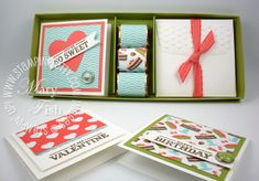 Stampin' Up! Sweet Shop Gift Box Video - Stampin' Up! Demonstrator - Mary Fish, Stampin' Pretty Blog, Stampin' Up! Card Ideas & Tutorials