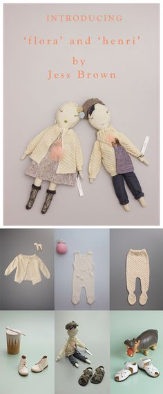 learn how you can win this pair of Flora & Henri Jess Brown dolls //petitapetitandfamily.com