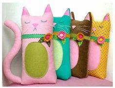 Almofada de gatinho.
