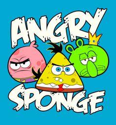 Angry Birds Spongebob Funny