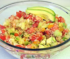 Quinoa Salad - one can never have too many recipes for quinoa salad.
