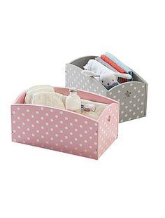 Caja de almacenaje estampada para accesorios del bebé 14,99€/u