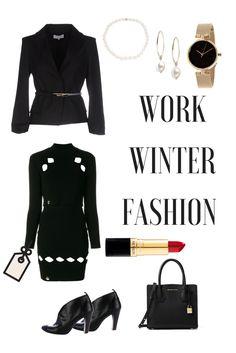 #PhilippPlein Kiss #Winterdress #winterfashion #winteroutfits #workoutfits #officewear Winter 2017, Fall Winter, Winter Outfits For Work, Patrizia Pepe, Office Fashion, Office Wear, Winter Dresses, Leather Crossbody, Work Wear