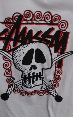Stussy Mens Shirt SKULL SWORD TEE Size S New with tags FREE SHIPPING #Stussy #GraphicTee #ebay #deals #fashion #stussyshirt
