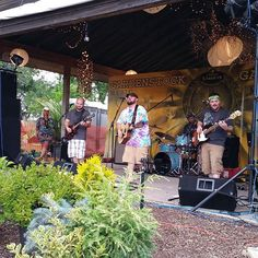 Small Town Hymnal on stage now at Gardenstock #Gardenstock15