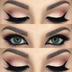 maquiagem profissional olhos - Pesquisa Google