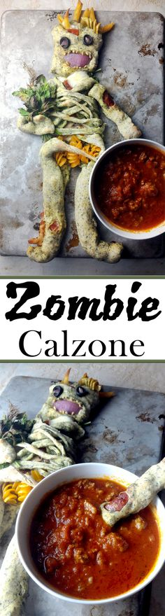 Corpsy McCalzone is a fun addition to any Halloween Party!