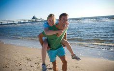 Strand, Sonne & Meeresbrise satt beim allmorgendlichen Jogging an der Ostsee
