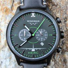 This C-130 watch is one of our 7 inaugural airframe specific watches built for any fan of the Hercules aircraft.  Not many of these were made and few remain so get yours now while they are still available.  #wingmanwatches #wheresyourwingman #customwatch #c130 #hercules