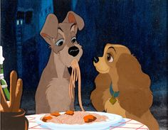 Lady and the Tramp spaghetti scene cels fetch $33,460 at Heritage Auction