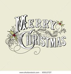 christmas typography   # Pin++ for Pinterest #