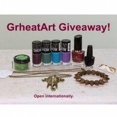Win #Beauty Prize Pack + #Ring & #Necklace ^_^ http://www.pintalabios.info/en/fashion_giveaways/view/en/1802 #International #MakeUp #bbloggers #Giveaway