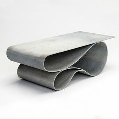 Concrete Canvas is essentially concrete cloth on a roll – a revolutionary material offering endless design possibilities. Amongst those exploring such possibilities is Portland-based artist Neal Aronowitz, who has used the material to craft his 'Concrete Canvas' furniture collection.