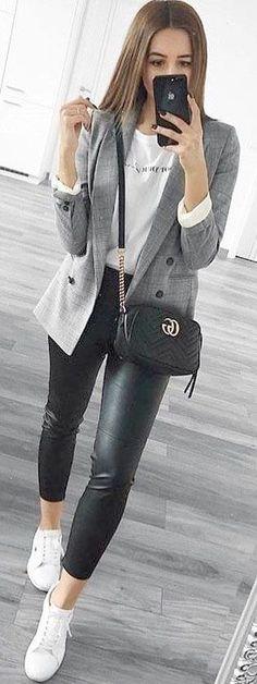 9 mejores imágenes de Chaqueta de tweed | Outfit, Outfits