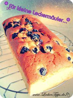 Heidelbeer-Joghurt-Butter-Kuchen - Leckertipps
