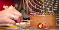 Špagety a torta? Naučte sa trik, ktorý určite využijete!