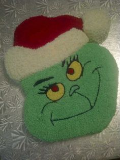 The Grinch Stole What Tole Painting, Cakes And More, Grinch