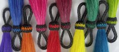 genuine horse hair tassels from Knot-a-Tail.com