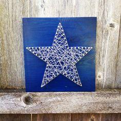 Cowboys String Art  cowboys  star  dallas  texas  blue  silver   16fe1c711