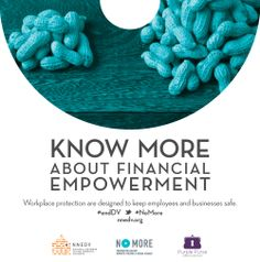 Know More About Financial Empowerment | Workplace protections are designed to keep employees and businesses safe. | Urge your Senators to support the Paycheck Fairness Act: http://salsa3.salsalabs.com/o/51013/p/dia/action3/common/public/?action_KEY=13654 | #KnowMore #NoMore #endDV | design by @Andria Waclawski
