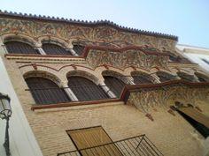 """#Sevilla - #Ecija-Palacio de Écija.    37° 32' 31.17"""" N  5° 4' 55.95"""" W  Por cortesía de Marije Aguillo"""
