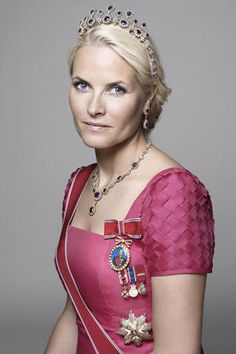The lovely Crown Princess Mette-Marit of Norway.