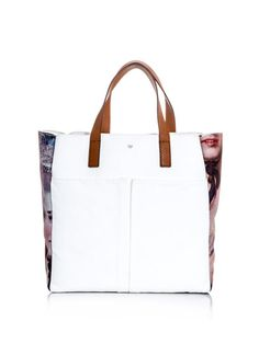 Anya Hindmarch Nevis Lady-print canvas tote