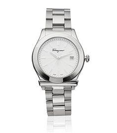 Salvatore Ferragamo Oversized  Bracelet Watch