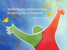 Internationally acclaimed bestselling author Byron Katie presents inspiring sayings in this beautiful work, which features illustrations by award-winning artist Hans Wilhelm. In this vibrant book of i