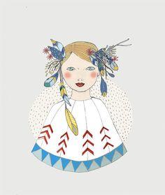 Spring Girl by Irena Sophia