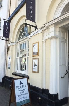 Our elegant RAFT Monmouth store.