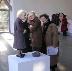Ron Mueck -- Two Women II (2005) -- Britain -- Hyperrealistic Sculpture