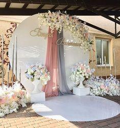White Wedding Arch, Diy Wedding, Wedding Events, Rustic Wedding, Wedding Reception, Weddings, Wedding Stage Decorations, Backdrop Decorations, Backdrops