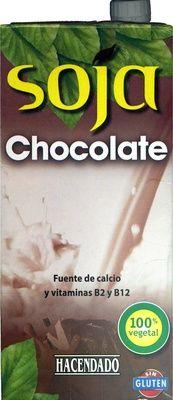 """Bebida de soja """"Hacendado"""" Chocolate  - Producto"""