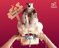 Polar bear - Global warming illustration
