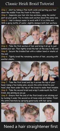 Fashion Tip:HAIR TUTORIAL #Braid #Tutorial #Hair #Hairstyle #Beauty #GHD