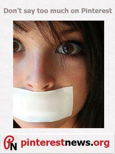 Pinterest Tips:- Don't overdo it by talking too much #pinterest www.pinterestnews.org