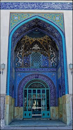a Darvish's Mosque in Gonabad, Afghanistan. Photo by Poria Dale.