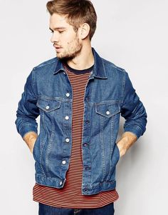 Paul Smith Mens Jeans Denim Jacket in Blue size L - 40 -42  Chest  rrp £159