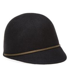 felt riding cap