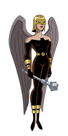 Justice League - (Hawkgirl - Justice Lords by SpiedyFan on DeviantArt) Justice League Characters, Dc Comics Characters, Hawkgirl, Batwoman, Female Superheroes And Villains, Bird People, Justice League Unlimited, Female Hero, Marvel Vs