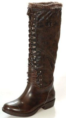 RAIN BOOTS Waterproof Winter Women's Brown Boots