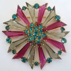 1950's Beautiful Brooch!  eBay  8/2017  $69.88