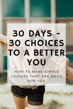Life is all about the choices we make. Make a choice every day and take a step toward living a better life. These simple choices will creae a better you. Personal Development Books, Self Development, Better Life Quotes, Free Mental Health, Self Confidence Tips, Workplace Wellness, Inspirational Quotes About Success, Ways To Be Happier, Make Good Choices