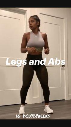 Gym Workout Videos, Gym Workout For Beginners, Fitness Workout For Women, Fitness Tips, Fitness Motivation, Buttocks Workout, Slim Waist Workout, Butt Workout, Thick Thighs Workout