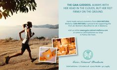 Gaia Marathon Promotion Gaia Goddess, Make Beauty, Small Island, Natural Cosmetics, Soap Making, Marathon, Promotion, Goodies, Clouds