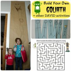 This Week We Got Back On The Bible Lesson Bandwagon And Learned About David First Talked Davids Occupation As A Shepherd